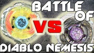 BATTLE: Diablo Nemesis X:D HYPERBLADE VS Diablo Nemesis X:D TAKARA TOMY 4D - Battle of The Geeks