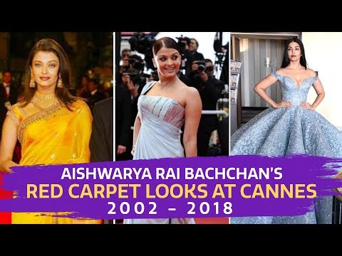 Xxx Mp4 Aishwarya Rai S Red Carpet Looks At Cannes From 2002 2018 Fashion Cannes 2018 Bollywood 3gp Sex