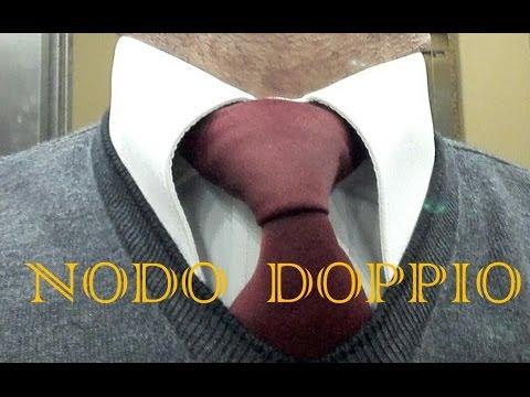 Nodo Cravatta doppio o Windsor