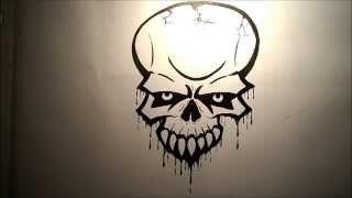 How to draw a Skull (Easy)