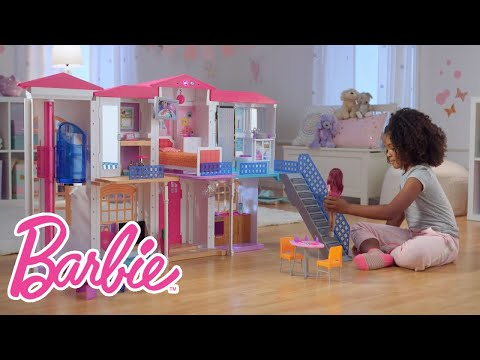Xxx Mp4 The Interactive Barbie Hello Dreamhouse At Play Barbie 3gp Sex