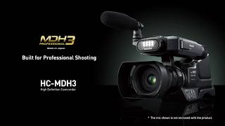 [NEW] Introducing Major Functions on Panasonic Full-HD Camcorder HC-MDH3
