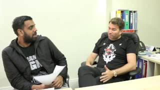 PART TWO - EDDIE HEARN Q & A (WITH KUGAN CASSIUS) - MAY 2016 / INC. BURNS & BELLEW TICKET GIVEAWAY