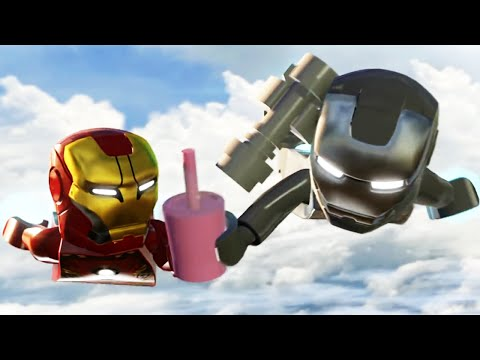 LEGO Marvel's Avengers The 'Full Movie' | All Cutscenes - Age of Ultron 【TRUE HD】