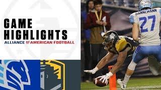 Salt Lake Stallions vs. San Diego Fleet | AAF Week 5 Game Highlights