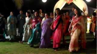 Indian wedding medley whole family dance in Goa (12.02.13) (Original)