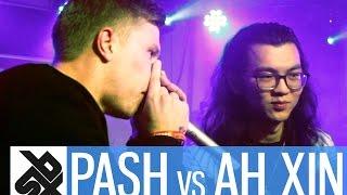 PASH vs AH XIN  |  Grand Beatbox 7 TO SMOKE Battle 2017  |  Battle 5