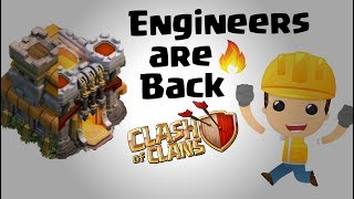 Engineer base are back in coc 2018 | Engineer Base in Clash Of Clans | What is engineer base