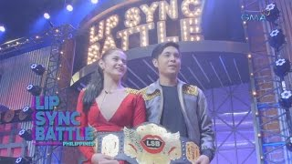 Bianca Umali and Miguel Tanfelix's Winner Moment | Lip Sync Battle Philippines