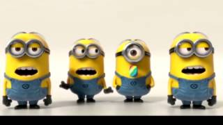 Minions Sings  Uptown Funk  Cover