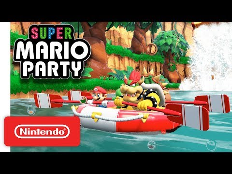 Super Mario Party River Survival Mode Nintendo Switch