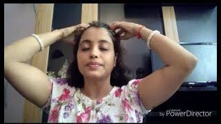 Scalp massage for healthy hair //oil massage in bengali