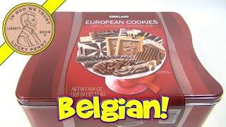 European Cookies With Belgian Chocolate, Costco Kirkland Signature Cookies