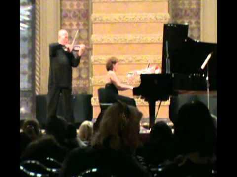 H.Wieniavsky Legende op 17 Vladimir Shehtman violin Bozhena Shehtman piano