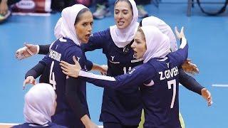 Iran vs Taiwan | 07 Sep 2016 | 2nd Round | 2016 Asian Women
