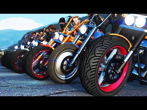 GTA 5 BIKERS & GANG WARS GTA 5 CUSTOM BIKES & GANG WARS GTA 5 Funny Moments