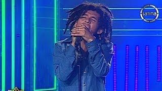 "Anderson Vilela interpretó ""I wanna love you"" de Bob Marley sin maquillaje"