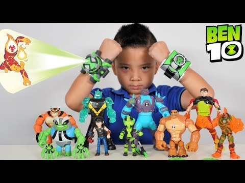 Xxx Mp4 NEW 2019 BEN 10 Transforming And Aliens Projection Omnitrix Toys Collection CKN Toys 3gp Sex