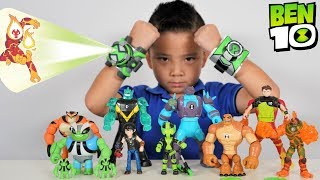 NEW 2019 BEN 10 Transforming and Aliens Projection Omnitrix Toys Collection CKN Toys