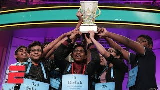 Spelling Bee ends in an unprecedented 8-way tie | 2019 Scripps National Spelling Bee