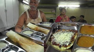 Masala Dosa & Onion uttapam | Indian Street Food | Baro Bazar Kolkata | Best Breakfast for You
