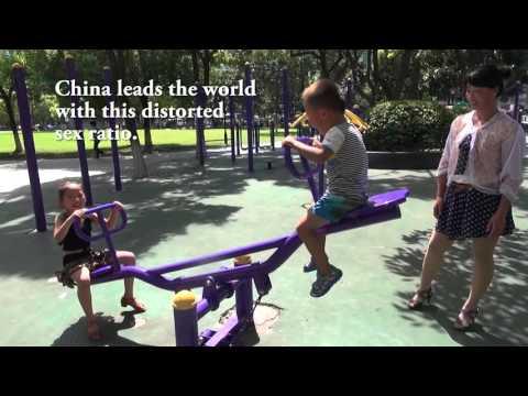 Unbalanced Sex Ratio of China's Children: Video Graphic