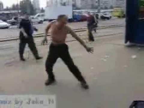 Pijany rosyjski ninja Menele.Tv