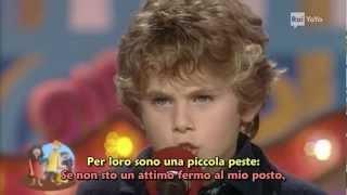 Un bambino terribile - Lo Zecchino d'Oro 1997 - con sottotitoli