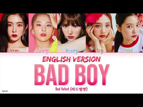 Xxx Mp4 Red Velvet 39Bad Boy Versi Bahasa Inggris39 LYRICS ENG COLOR CODED 3gp Sex