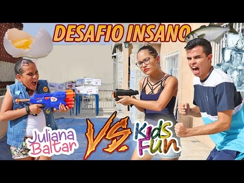 JULIANA BALTAR VS KIDS FUN DESAFIO INSANO