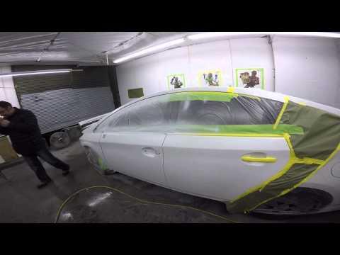Покраска автомобиля в перламутр своими руками
