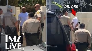 Dr. Dre Searched & Cuffed By Cops (TMZ Live)