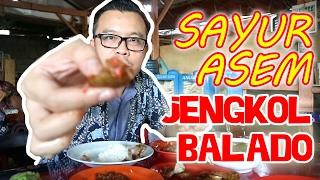 Coba 3 Jenis Sambal & Nikmatnya Jengkol Balado Dicampur Sayur Asem Mpok Ella Makanan Khas Betawi