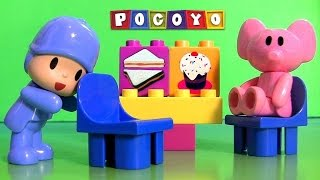 Pocoyo Picnic Blocks Merienda Bloques Lego Duplo Toys Learn to Count 123 by DisneyCollector