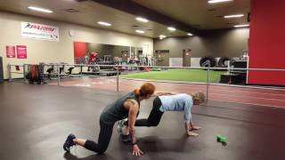 Bear Crawl Coaching with Lynn, Nov 6th, 2016