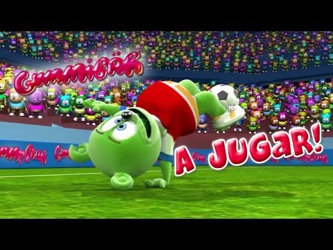 Download Gummibär A Jugar! World Cup Soccer/Football Song Chilean Spanish Gummy Bear Osito Gominola