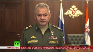 Russian MoD on measures they take in Syria after Il-20 downing
