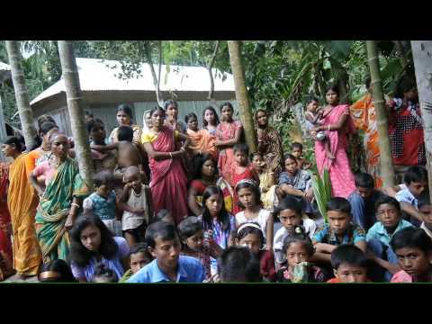 Bangladeshi girl singing devotional song