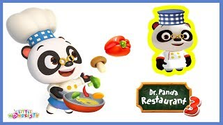 Dr Panda Restaurant 3 | With New Smoothie Maker & New Recipes | Educational app for Kids | Dr Panda