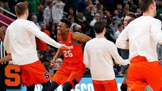 Syracuse Sweet 16 Bound After Grinding Win vs. 3-Seed Michigan State