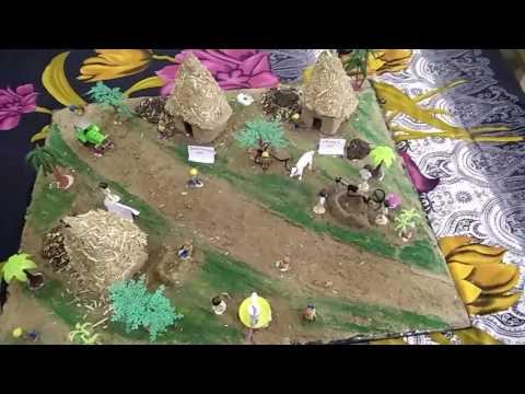 3D MODEL OF INDIAN VILLAGE...