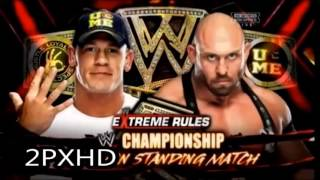 WWE Extreme Rules 2013 Highlights HQ