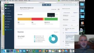 How to use Intuit Quickbooks Online Step by Step
