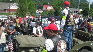 Presentation to family of CAPT Jason B Jones US Army Green Beret from PGRNY