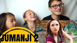 JUMANJI 2: WELCOME TO THE JUNGLE Trailer #2 Reaction!!!