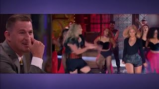 Channing Tatum blikt terug op lip sync battle met Beyoncé  - RTL LATE NIGHT/ SUMMER NIGHT