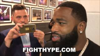ADRIEN BRONER COMMENTS ON BEING SHOT AT AND LIVING IN THE PUBLIC EYE: