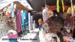 Divisoria Tabora Street Shoppers Guide See What Product Items Are Available