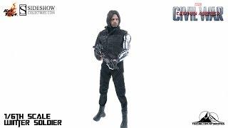 Optibotimus Review:  Hot Toys Captain America Civil War WINTER SOLDIER