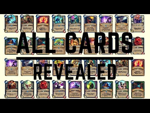 The League of Explorers All Cards Revealed Hearthstone New Adventure